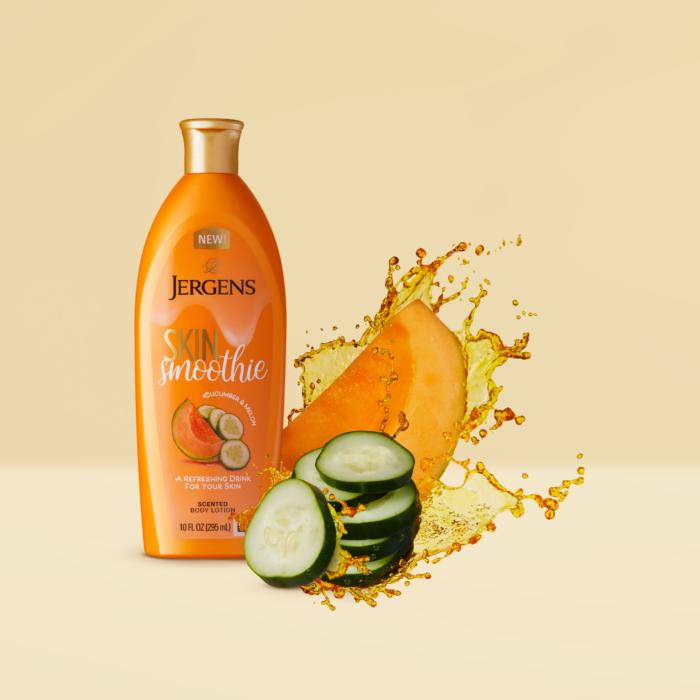 Jergens Skin Smoothie - Splash Product Photography