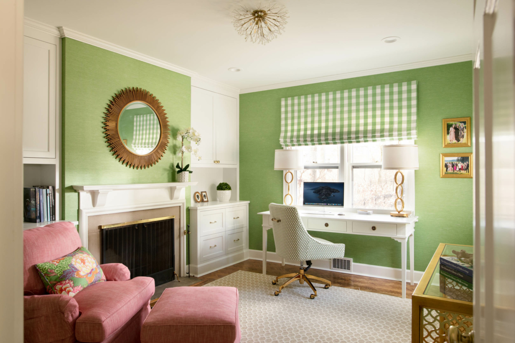 Architecture Interior photography -Green living room 2