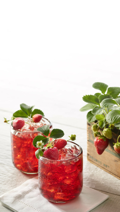Drink photography- cocktails - mocktail photography-OHIO fresh strawberries 2