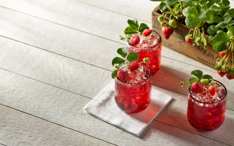 Drink photography- cocktails - mocktail photography-OHIO fresh strawberries 3