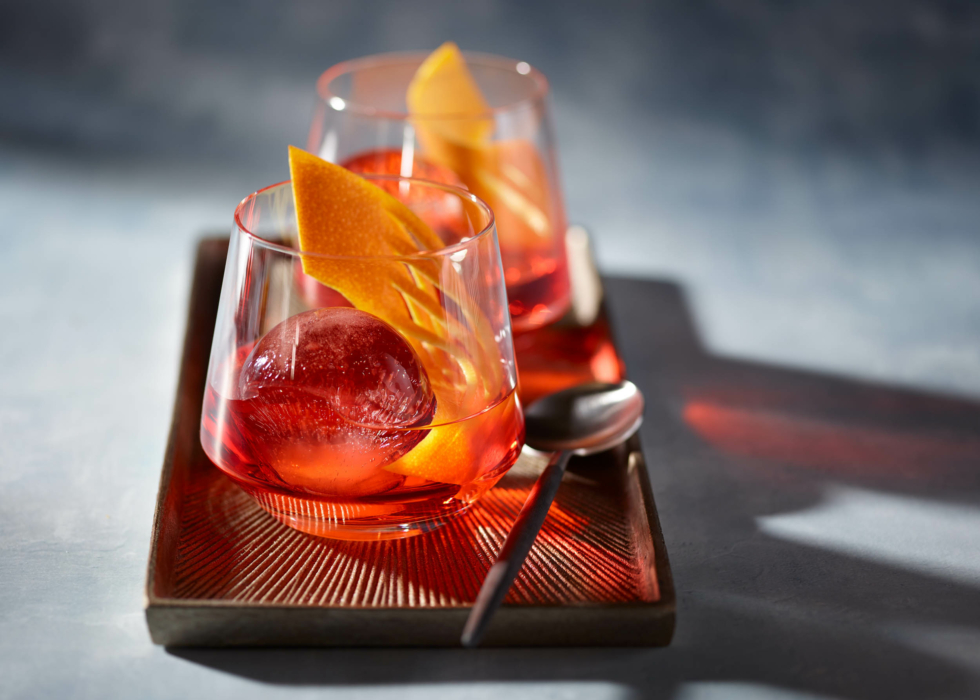 cocktail photography food photography, Negroni 2