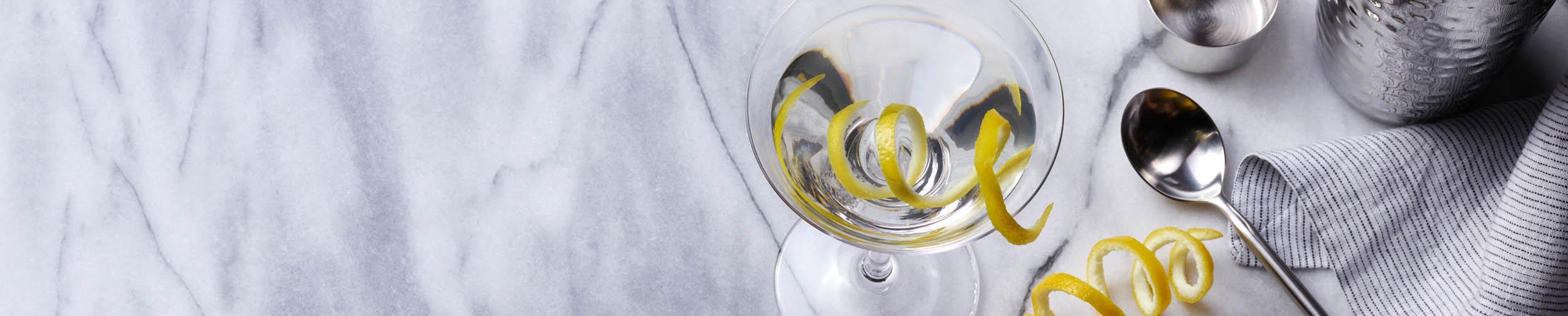 Drink photography, cocktails, Vesper, Ingredients 2