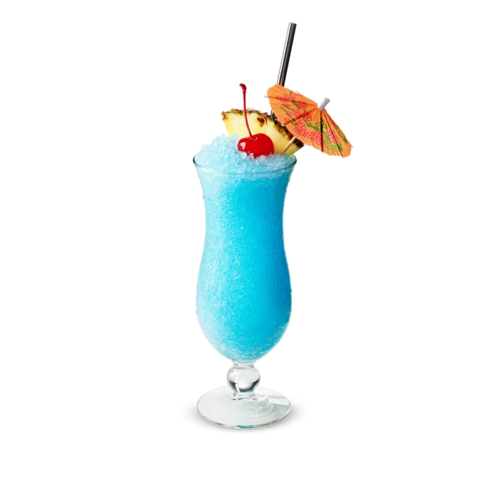 Drink photography - cocktails - Blue Hawaiian - blended 1