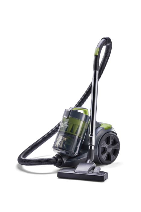 Product Photography, Black & Decker vacuum, canister vacuum, white background 2