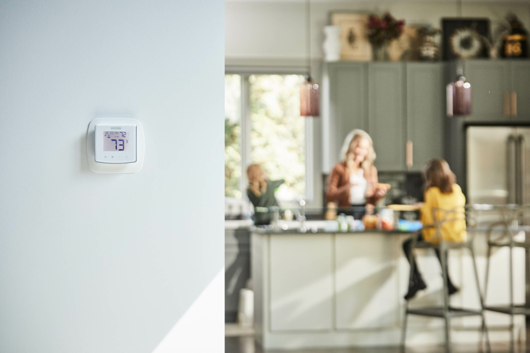Product Photography, Thermostat, Smart thermostat, family kitchen