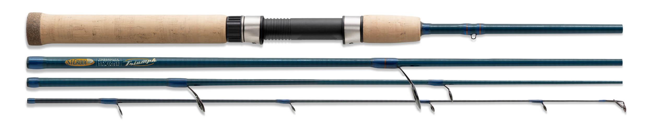 Fishing rod, green white background 2