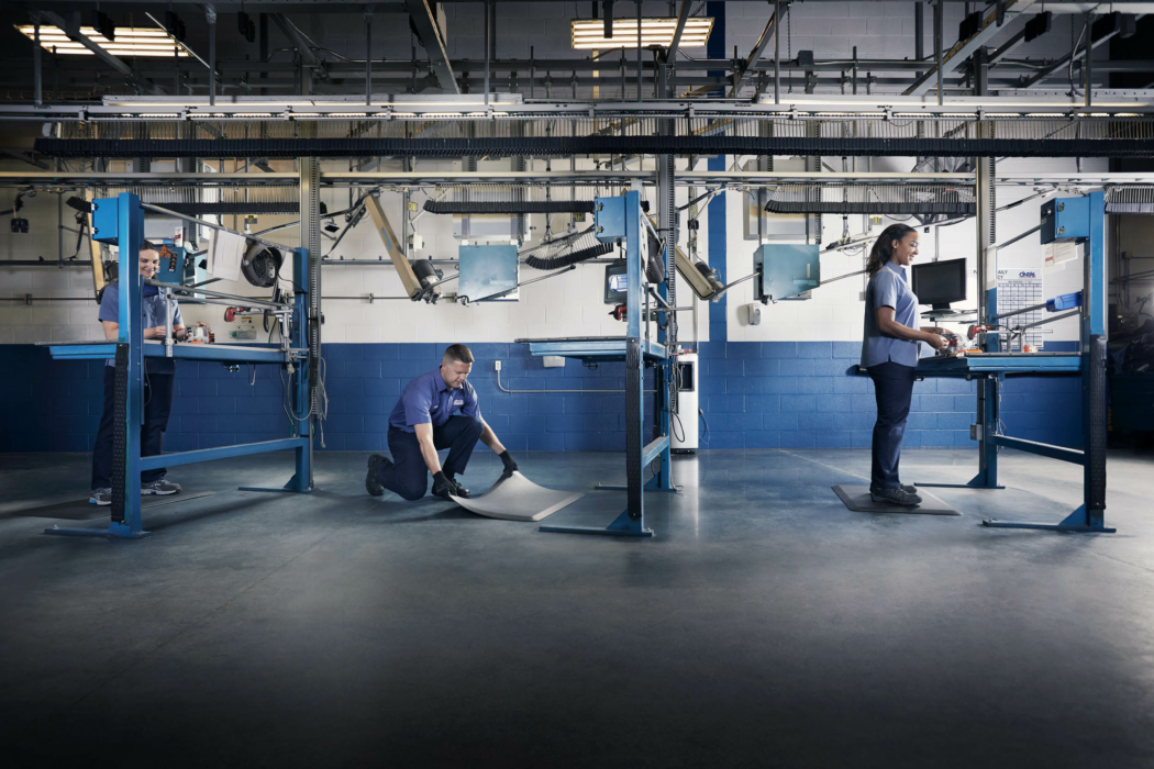 Industrial Photography Machinist stations