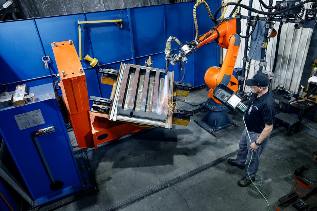 Industrial Photography robot weld 2